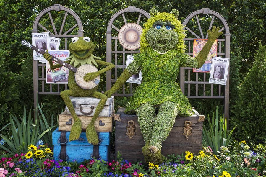Muppets Epcot International Flower And Garden Festival