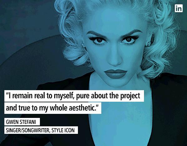 Gwen Stefani LinkedIn